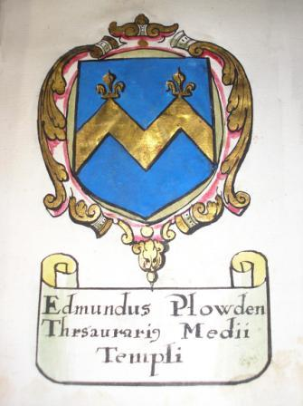 Edmund Plowden Coat of Arms